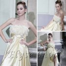 ELYSEMOD Trumpet/Mermaid Strapless Asymetrical Stain Quick Delivery/ Evening/ Prom Dress