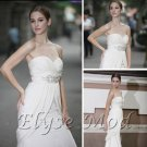 ELYSEMOD Trumpet/Mermaid Sweetheart Trailing Smear Pearl Stain Quick Delivery/ Evening/ Gown Dress