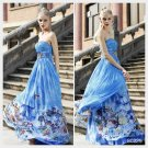 Elysemod A-line Sweetheart Ankle-length Sleeveless Chiffon Evening Dress /Women's Dresses 80229