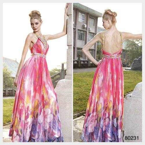 Elysemod A-line Straps Ankle-length Sleeveless Elastic satin Women's Dresses Evening Dress 80231
