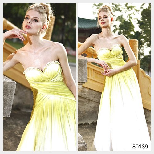 Elysemod A-line Sweetheart Floor-length Sleeveless Chiffon Women's Clothing/ Evening Dress 80139