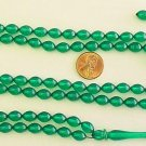 Islamic Prayer Beads TRANSPARENT GREEN GALALITH 99