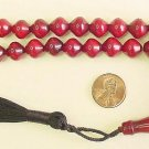 PRAYER BEADS KOMBOLOI CHERRY AMBER SHALGAMY FATURAN