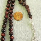 PRAYER WORRY BEADS TESBIH KOMBOLOI IRON EYE & STERLING