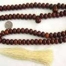 ISLAMIC LARGE PRAYER BEADS 99 BROWN SANDALOUS