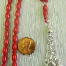 Islamic Prayer Beads : RED CORAL -by Tesbihci