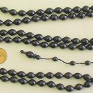 ISLAMIC PRAYER WORRY BEADS 99 BLACK BUFFALO HORN RRRR