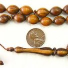 ISLAMIC PRAYER BEADS VERY RARE PARADISE WOOD -OUD-