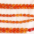 Islamic Prayer Beads 99 OVAL LIGHT ORANGE CARNELIAN