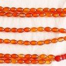 Islamic Prayer Beads 99 OVAL LIGHT ORANGE CARNELIAN