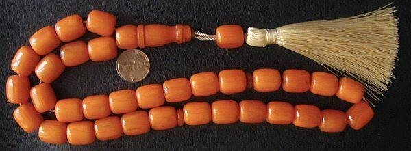 PRAYER WORRY BEADS KOMBOLOI KAHRAMAN COLOR RESIN