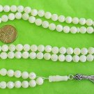 Islamic Prayer Beads 99 ROUND MOTHER OF PEARL Tesbihci