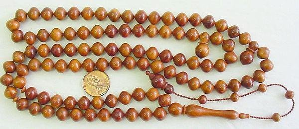 Islamic Prayer Beads EXCEPTIONAL 99 KUKA x Tesbihci x