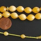 PRAYER BEADS SUPHA TESBIH 33 TURKISH BUTTERSCOTCH AMBER