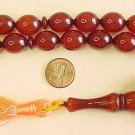 PRAYER WORRY BEADS KOMBOLOI BROWN AMBER OLIVE FATURAN