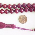 PRAYER WORRY BEADS KOMBOLOI BURGUNDY SHALGAMY FATURAN