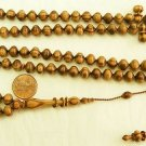 ISLAMIC PRAYER BEADS TASBIH SUBHA  ZEBRANO 99 BEADS