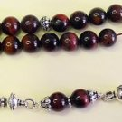 IRONEYE AND STERLING GREEK KOMBOLOI WORRY BEADS