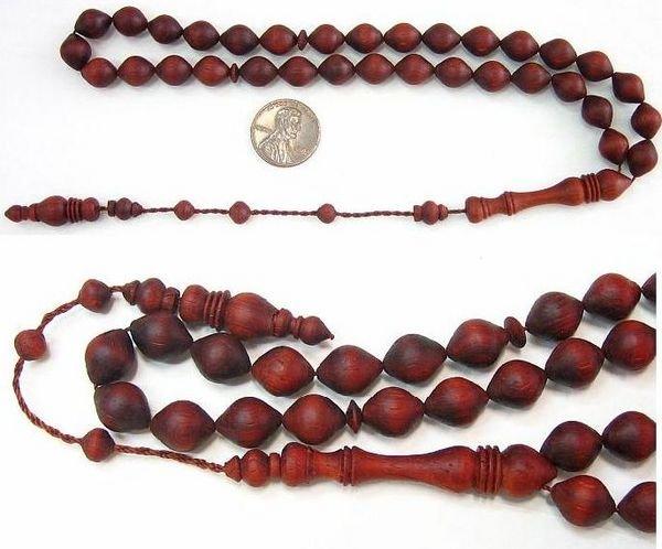 PRAYER WORRY BEADS TESBIH BLOODWOOD V. SPECIAL OFFER