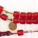 KOMBOLOI WORRY BEADS XERES FATURAN CUT BARREL +STERLING