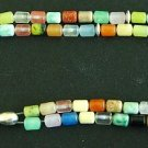 ISLAMIC PRAYER BEADS TESBIH SUBHA 99 MULTI GEMSTONE CAPSULE CARVE ALL COLORS