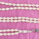 Islamic Prayer Beads 99 WHITE OVAL MOTHER OF PEARL