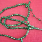 Islamic Prayer Beads SPECIAL LADY EMERALD TURKISH AMBER CATALIN