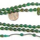 PRAYER BEADS SUBHA SPECIAL LADY 99 GREEN TURKISH CATALIN AMBER