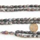 ISLAMIC PRAYER  BEADS FOSSILE AGATE  & STERLING SILVER
