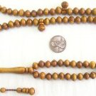 PRAYER BEADS CENTENARY OLIVE 99 BEADS APPRENTICE CARVE LIMITED SPECIAL OFFER