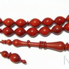 Prayer BeadsTesbih Royal Zulu Tree Pinkivori Wood - Highly Collectible - Unique