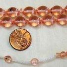 Prayer Beads Tesbih 33 Pink Turkish Amber Catalin Superior Carving Collector's