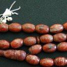 Prayer Beads Tesbih Komboloi Oval Sesame Jasper & Sterling Silver- Collector's