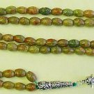 Islamic Prayer Beads Rosary 99 Autumn Jasper & Sterling Silver