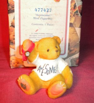"Cherished Teddies ""AWESOME"" Mini Figurine 1998"