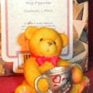 "Cherished Teddies ""CONGRATULATIONS"" Mini Figurine 1998"