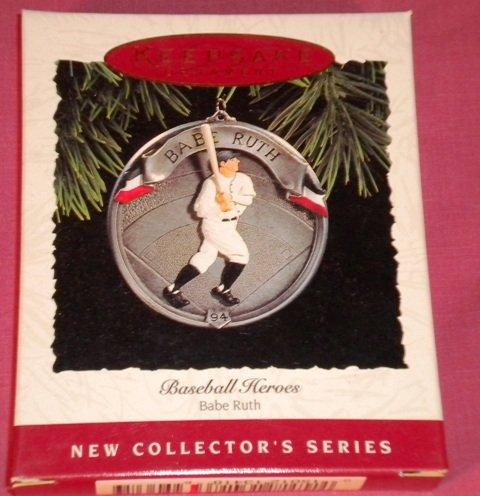 BABE RUTH Hallmark Ornament 1994 NIB