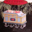 Hallmark #2 Yuletide Central: Coal Car Ornament 1995