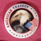 "Quantity 10 - 2"" American Pins 9/11"