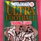 1991 Fleer Ultra football pack - Brett Favre Rookie