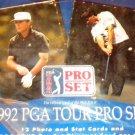 1992 Pro Set Golf Card Packs Vijay Singh Rookie