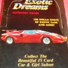 Exotic Dreams 36 Packs Collector Cards Of Cars 1992