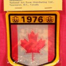 1976 Olympic Games Decal Canada NEW