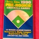 1990 Pre-Rookie AAA Baseball Card (1) Pack