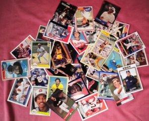 100 Random Baseball Cards from 1979 - present