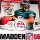 MADDEN 06: Prima Strategy Guide Xbox  PC PS2 Gamecube McNabb Cover