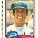 1981 Topps Baseball Uncut Sheet WILLIE RANDOLPH
