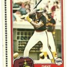 1981 Topps Baseball Uncut Sheet DAVE WINFIELD