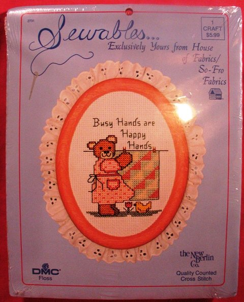 """SEWABLES KIT """"Busy Hands Are Happy Hands"""""""