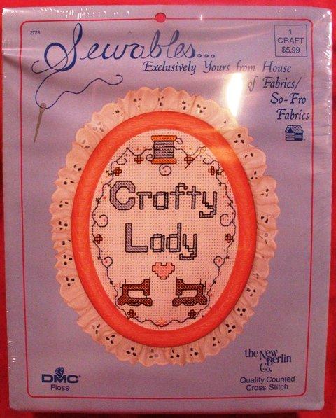 "SEWABLES KIT ""Crafty Lady"""